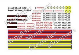 Military Police Vehicle Markings
